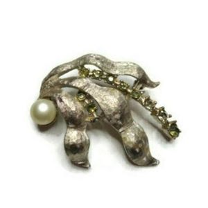 Vintage Large Brooch pendant Pin Jewelry